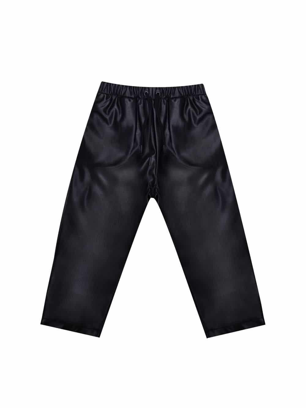 Pantalon En Cuir Recyclé