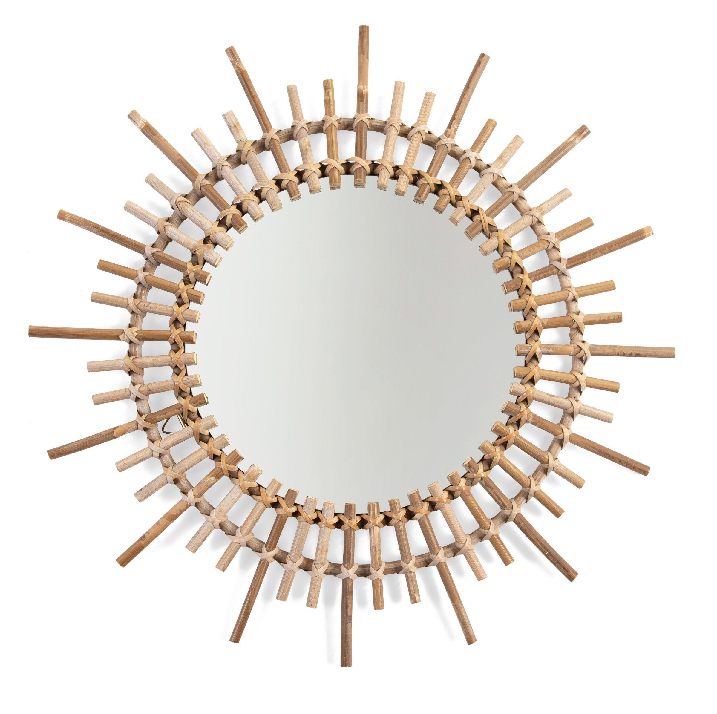 Miroir Rotin Fondi