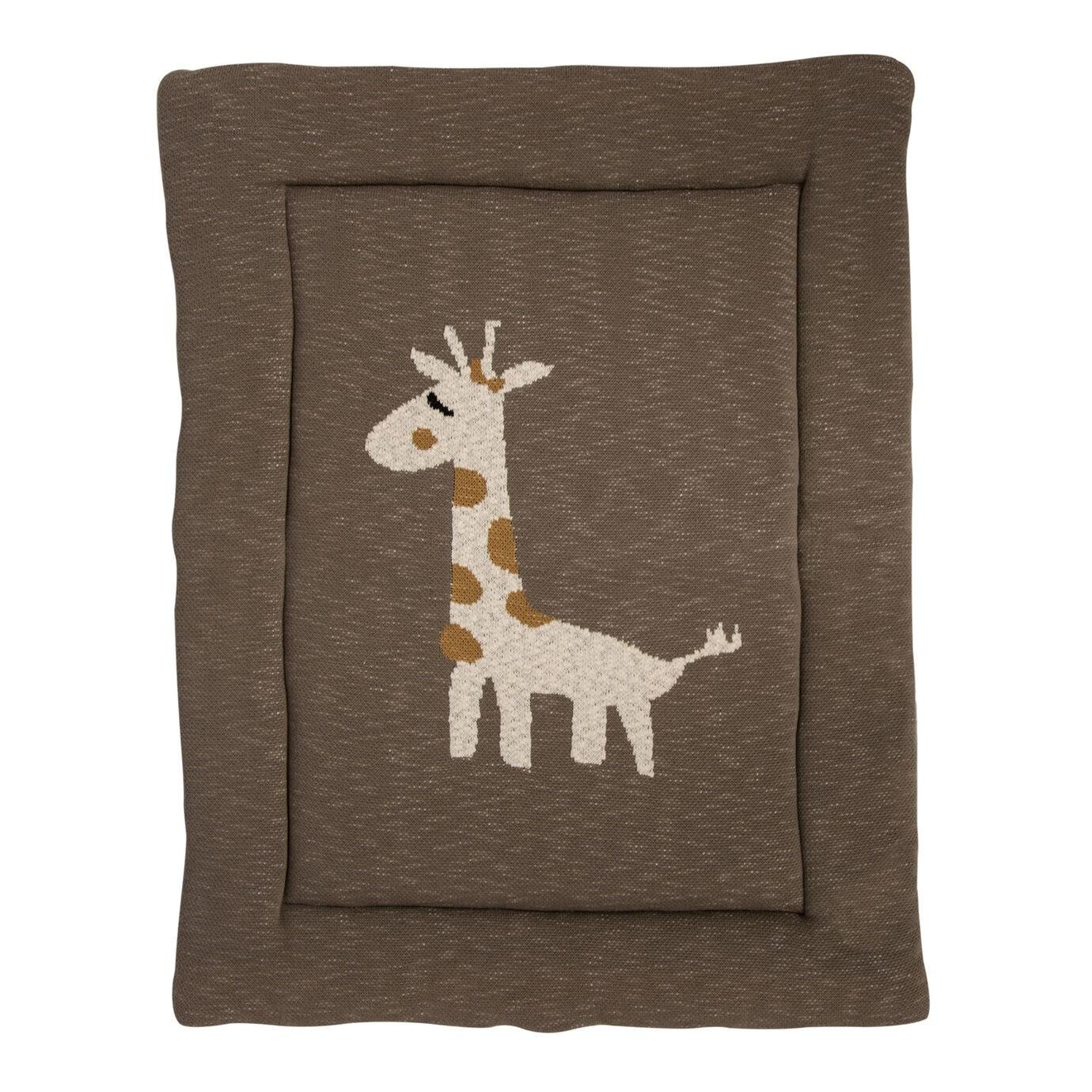 Fond De Parc Tricot Giraffe